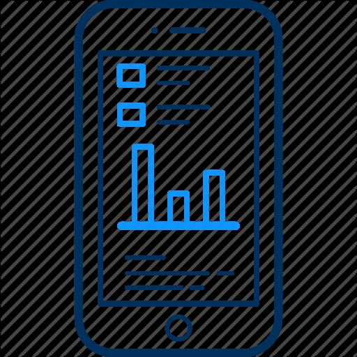 Analytics, Char, Chart, Graph, Mobile, Phone, Pie Icon