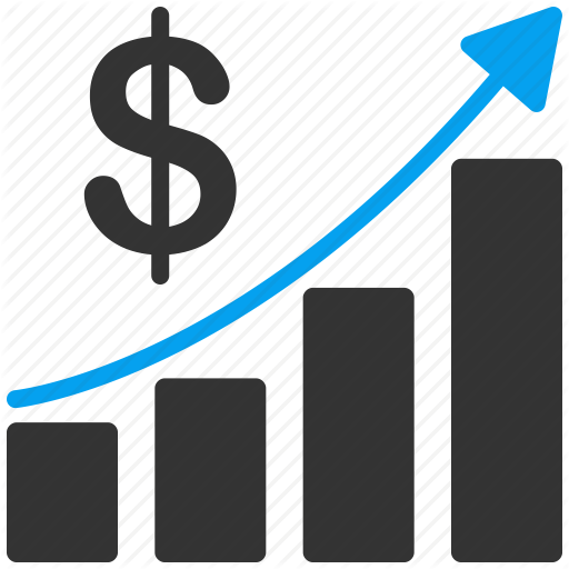 Arrow, Business, Chart, Financial, Graph, Report, Sales Up Icon
