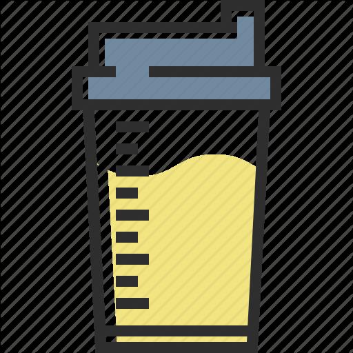 Milk, Mix, Protein, Protein Shake Icon