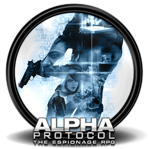 Alpha Protocol Icon Mega Games Pack Iconset Exhumed