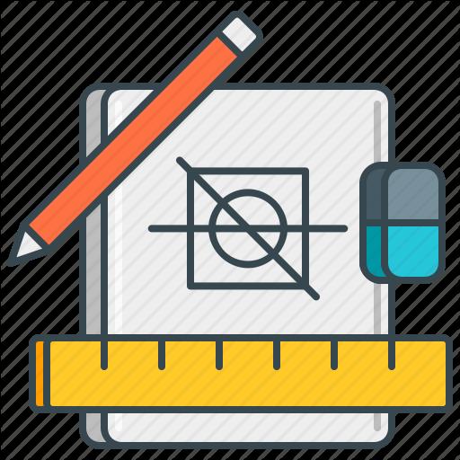 Designer, Draw, Idea, Project, Prototype, Sketch, Tools Icon