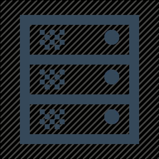 Data Server, Server, Proxy Server, Server, Web Server Icon