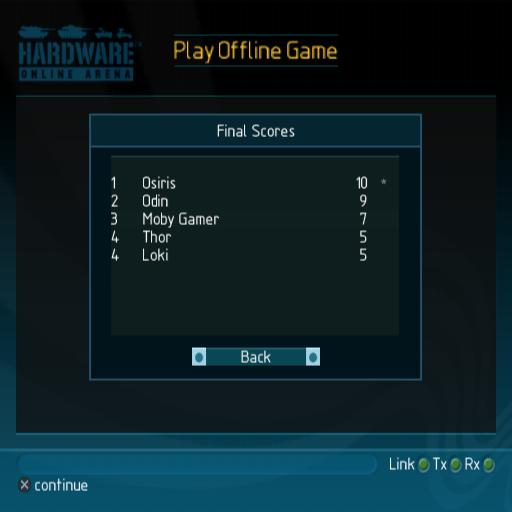 Hardware Online Arena Screenshots For Playstation