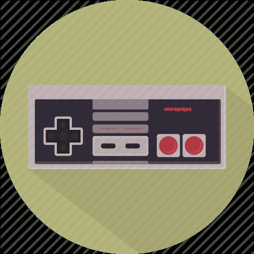 Controller, Game, Gamepad, Nes, Nintendo, Pad, Retro Icon