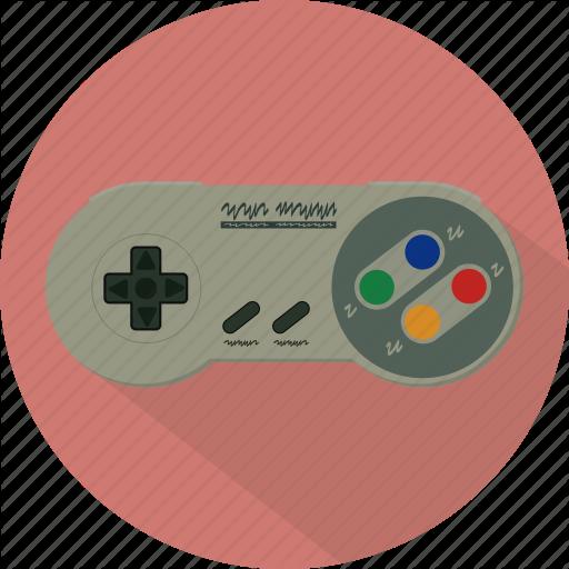 Controller, Game, Gamepad, Nintendo, Pad, Retro, Snes Icon