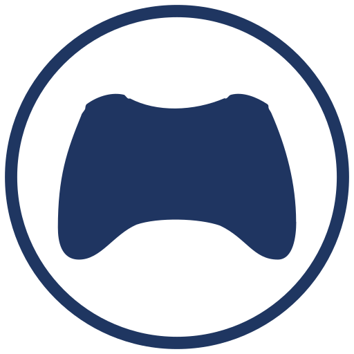 Pictures Of Game Controller Icon Blue