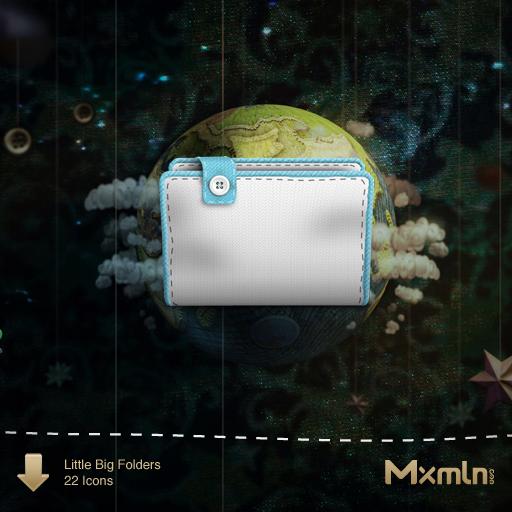 Mxmlnlog Little Big Folders, A Knitted Os X Folder Replacement