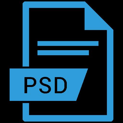 File, Photoshop File, Photoshop Extension Icon