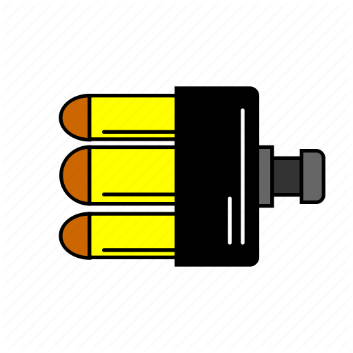 Ammo, Barrel, Loader, Pubg, Shooter, Shooting, Weapon Icon