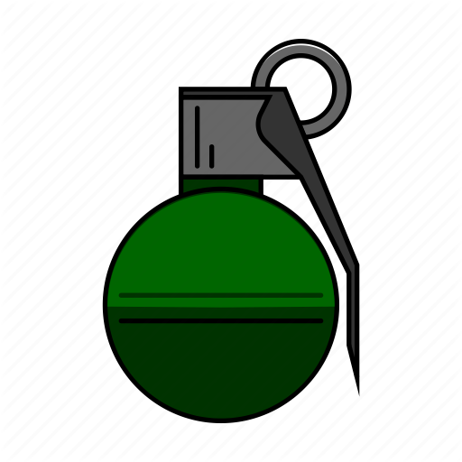 Ammo, Gaming, Grenade, Pubg, Shooter, Shooting, Weapon Icon