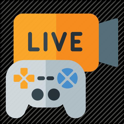 Fortnite, Game, Live, Match, Pubg, Streaming Icon