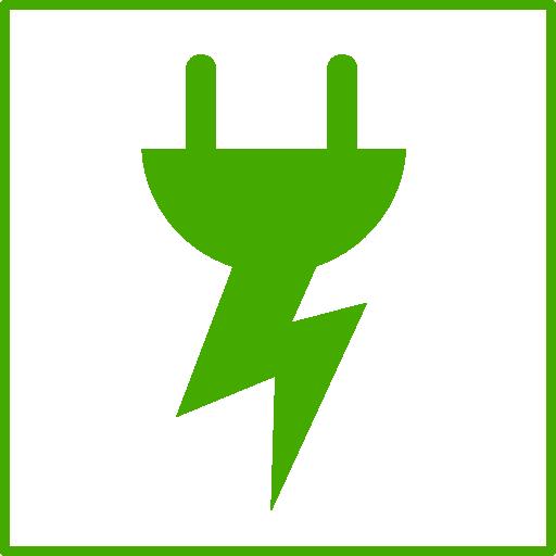 Eco Green Energy Icon Clipart