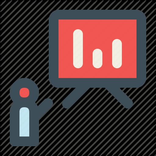 Presentation, Public Speaking, Speech, Training Icon