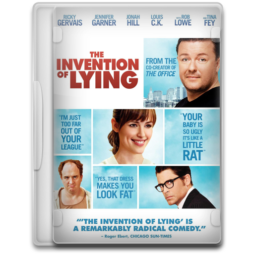 Covers, Cover, The, Invention, Of, Lying, Movie, Movies Icon