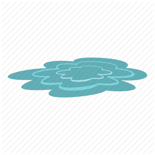 Clean, Drink, Drinking, Drop, Liquid, Nature, Water Puddle Icon