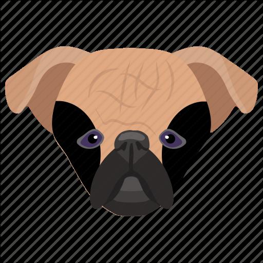 Animal, Companion Dog, Dog, Dog Breed, Pug Icon