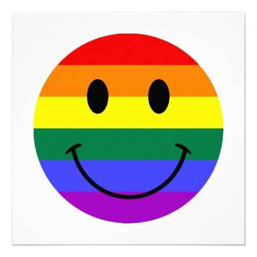 Rainbow Face Wakey Faces Smiley Face