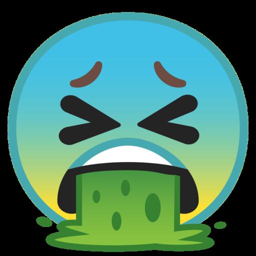 Face Vomiting Emoji