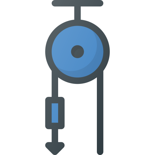 Science, Pulley, Graviti, Pull Icon Free Of Free Set Color Outline
