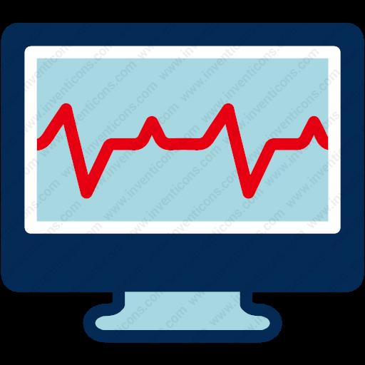 Download Ecg Screenecg,heartbeat,heartbeat Screen,lifeline