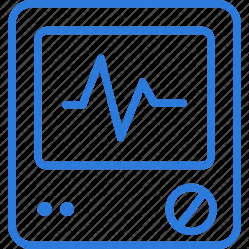 Health, Heartbeat, Hospital, Medical, Monitor, Pulse Icon