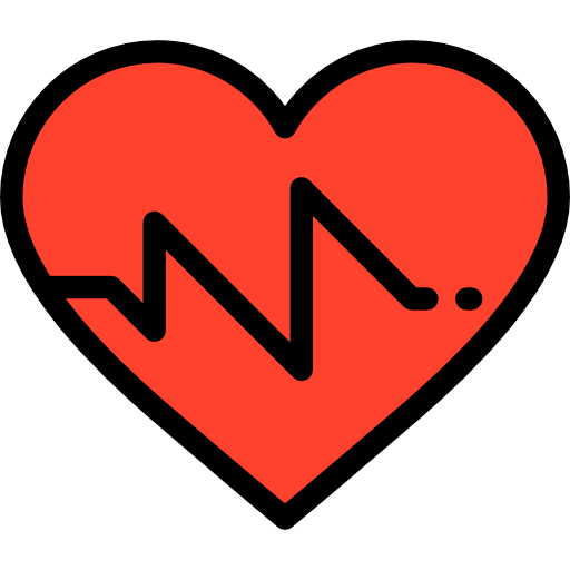 Graph, Heart, Medical, Frequency, Pulse, Beating, Pulse Rate Icon