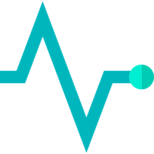 Medical, Frequency, Graph, Heart, Beating, Pulse Rate, Pulse Icon