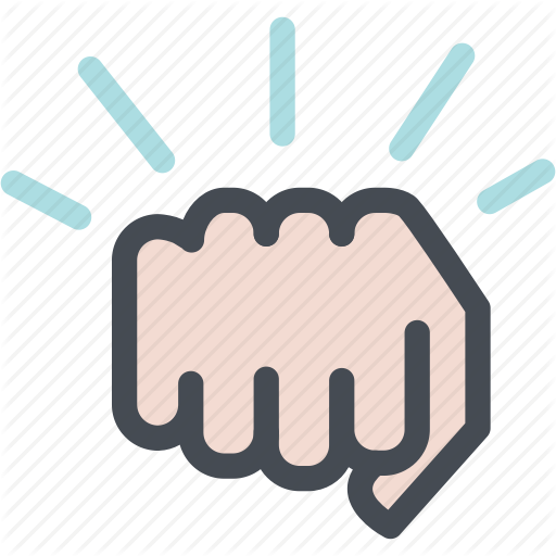 Fight, Fighting, Fist, Hand, Hit, Punch Icon
