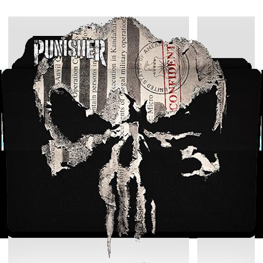 The Punisher Tv Series Folder Icon