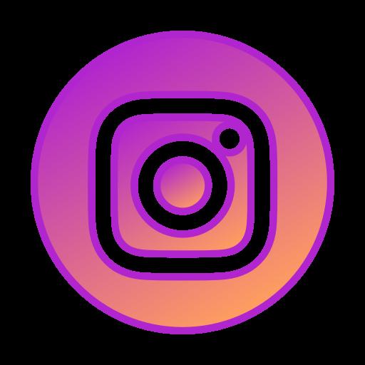 Circle, Gradient, Gradient Icon, Icon, Instagram, Social Media Icon