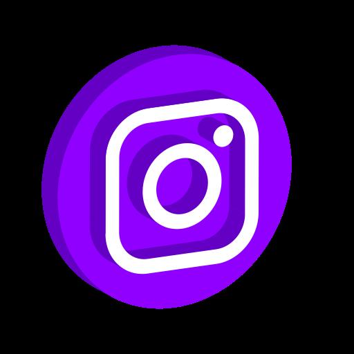Media, Play, Online, Logo, Social, Instagram Icon