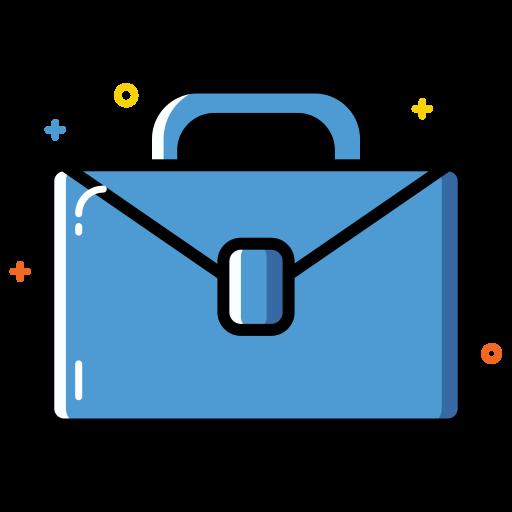 Briefcase Bag Icon Office Iconset Thalita Torres