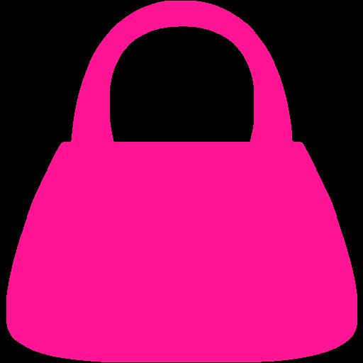 Deep Pink Purse Icon