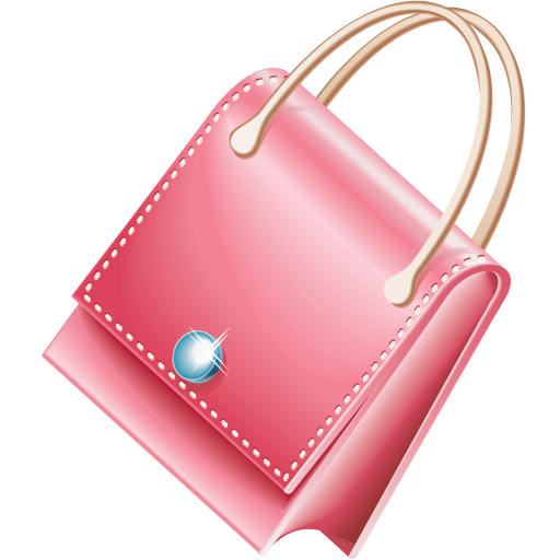 Pink Purse Icon Download Free Icons