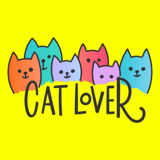 Pusheen Cat Text Sticker Pack