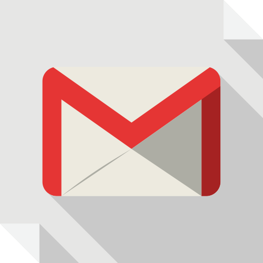Flat Gmail Icon Images