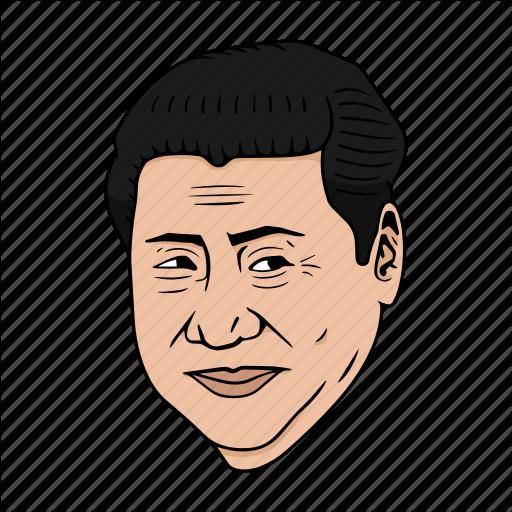 Asia, China, Jinping, President, Xi Icon
