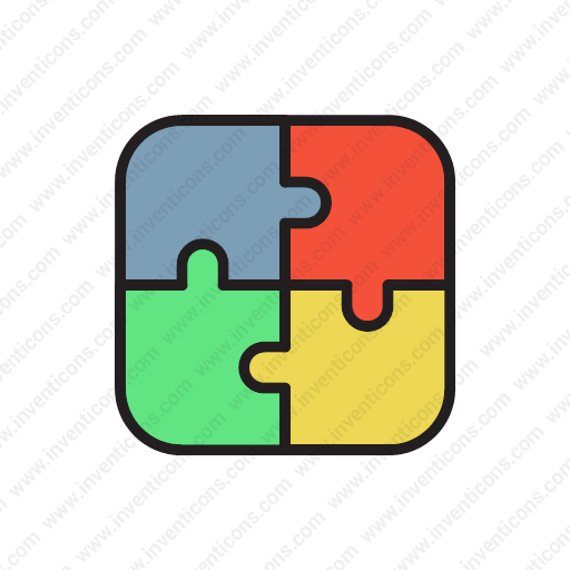 Download Jigsaw,togetherness,puzzle,pazzle,seo Icon Inventicons