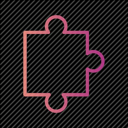 Concept, Gradient, Jigsaw, Puzzle, Puzzle Piece Icon