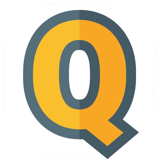 Iconexperience G Collection Symbol Q Icon
