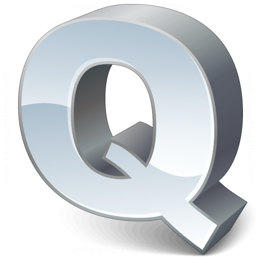 Iconexperience V Collection Symbol Q Icon
