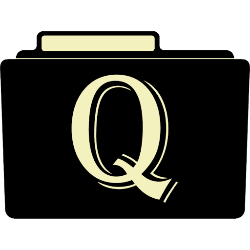 Q Icon Alphabet Folder Iconset Aaron Sinuhe