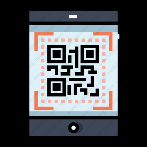 Download Qr,code Icon Inventicons