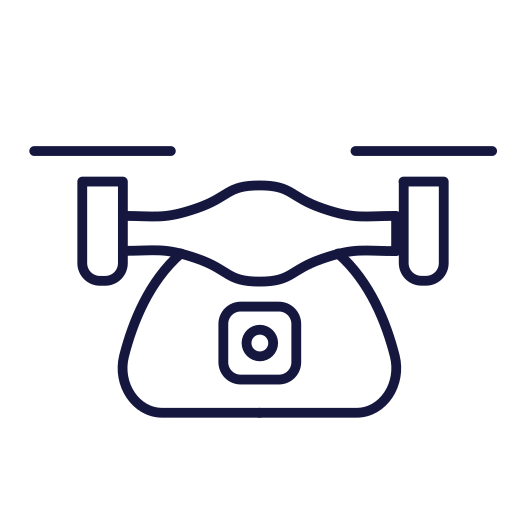 Quadcopter Icon Free Of Travel Icons Line To Awaken Your Wanderlust