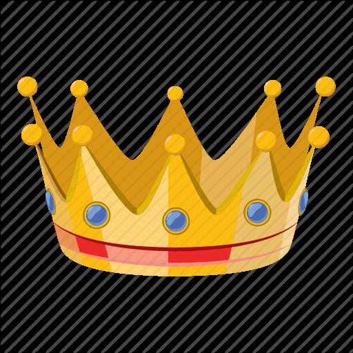 Cartoon, Celebration, Crown, Gold, Party, Princess, Queen Icon