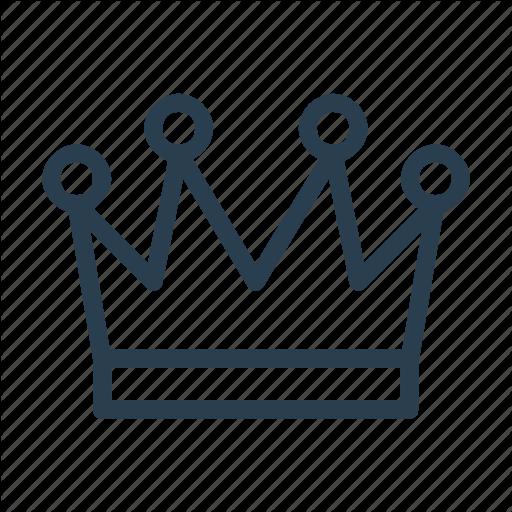 Corona, Crown, Empire, Imperial, King, Queen, Tiara Icon