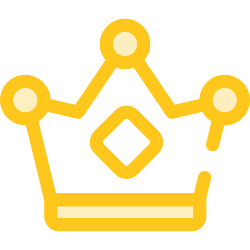 Royalty, Chess Piece, Queen, King, Shapes, Crown Icon
