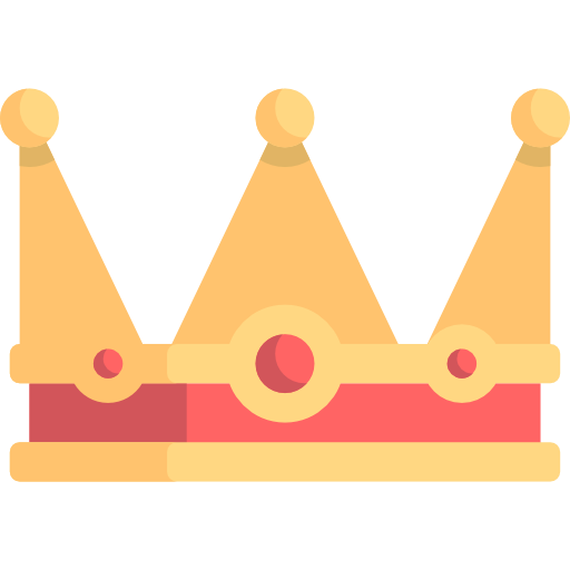 Shapes, Queen, Monarchy Icon