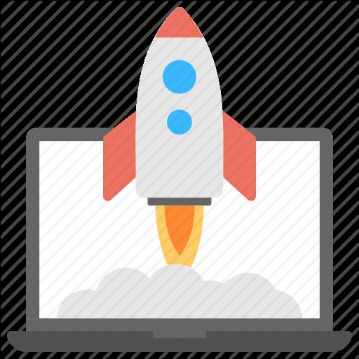 New Website, Rocket Launch, Startup, Startup Launch, Website