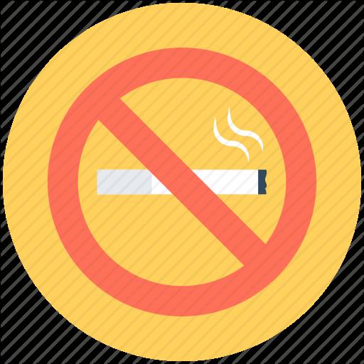 Cigarette Not Allowed, Cigarette Restriction, No Cigarette, No